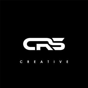 CRS Letter Initial Logo Design Template Vector Illustration