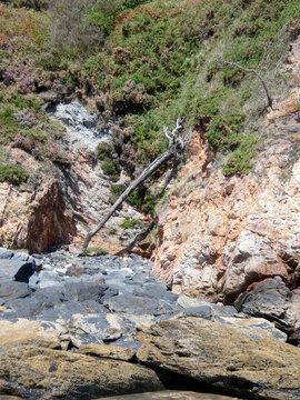 Playa de Otur,situada en el concejo asturiano de Valdés.Forma parte de la Costa Occidental de Asturias y está enmarcada en el Paisaje Protegido de la Costa Occidental de Asturias.
