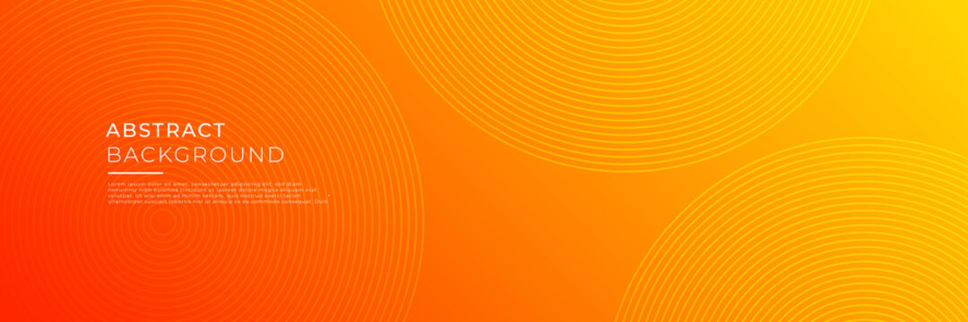 Technology abstract orange background for business banner, corporate flier, company profile and more