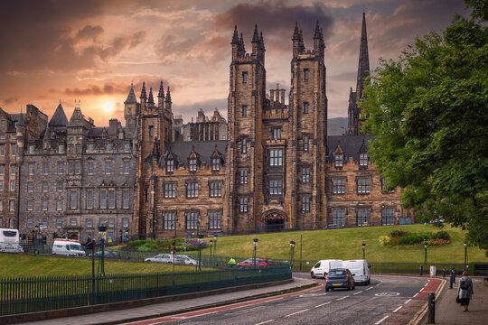 Edinburgh, Scotland - June 19, 2018