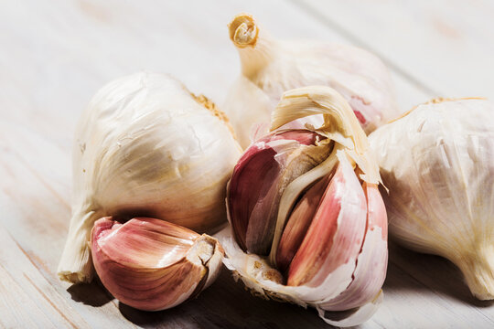 red garlic of sulmona