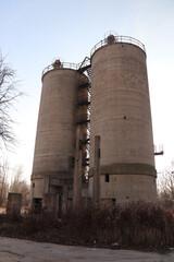Fototapeta Zniszczona fabryka