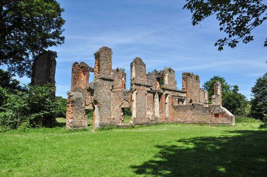 Sopwell Nunnery Ruins, St Albans, Hertfordshire, England, UK