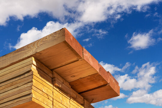 Stack of dimensional lumber for home construction