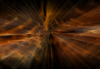 Wall Mural - abstracta, energía,  marron, alumbrado, con textura, designio, color,  ilustración, explosiones, fondo, concepto, grafica, anaranjada