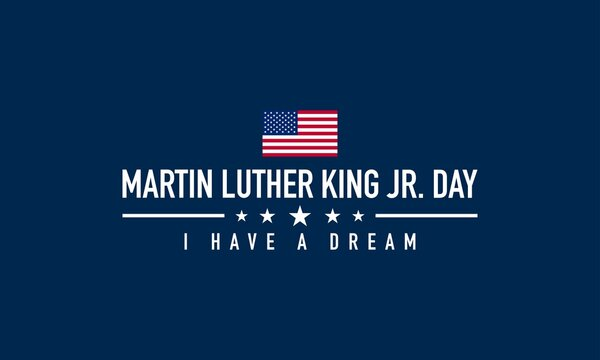 Martin Luther King Jr. Day Background. Vector Illustration.