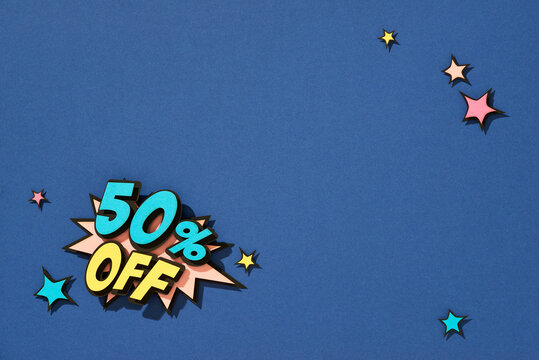 Discount. Sale promotion