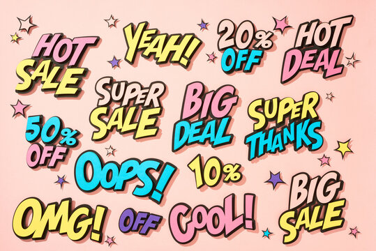 Mega big sale promotion banner