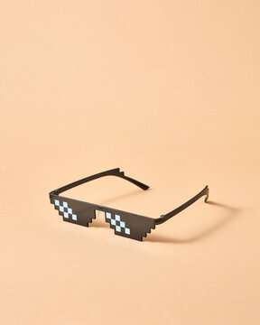 Pixel glasses for protection from harmful rays.