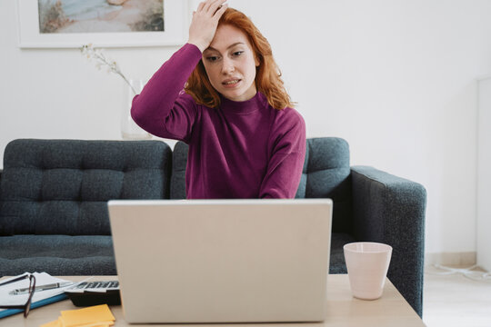 One woman forgot an important deadline and feeling worried