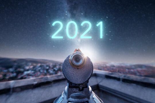 Blick in das neue Jahr 2021