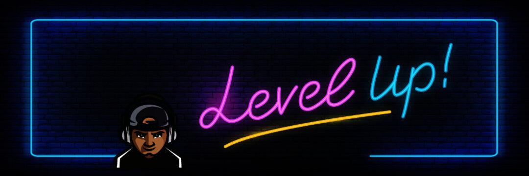 gamer level up