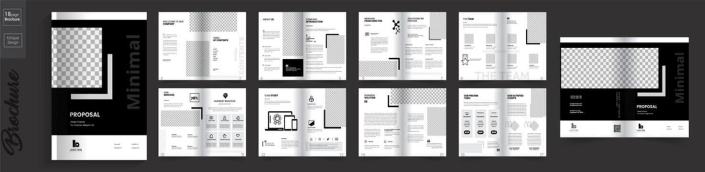 Minimal Company Brochure Design