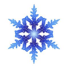 Snow flake 7 - fototapety na wymiar