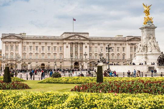 London, UK: Buckingham royal palace
