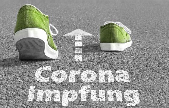 Der Weg zur Corona Impfung
