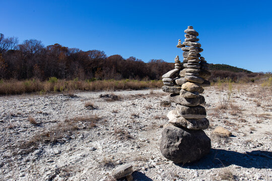 Guadalupe River Cairn