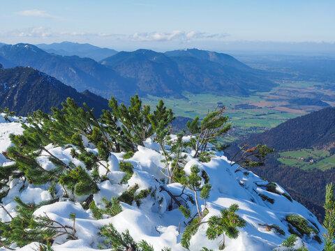Blick vom Simetsberg (Bayerische Alpen)