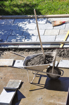 stone floor construction
