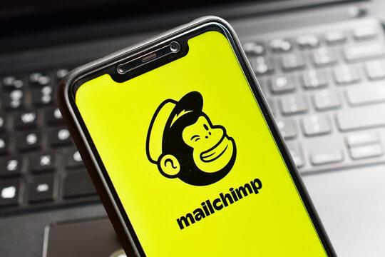 MailChimp email marketing platform for e-commerce business and online websites
