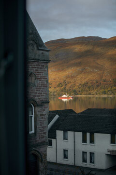 View to the loch by the window