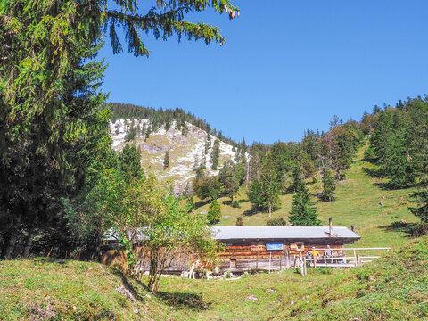 Herbstwanderung in den Bayerischen Alpen (Tegernsee)