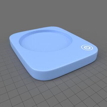 Portable coffee warmer