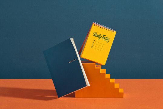Notebook weekly tasks