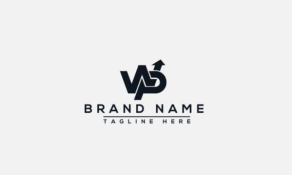 WP Logo Design Template Vector Graphic Branding Element.