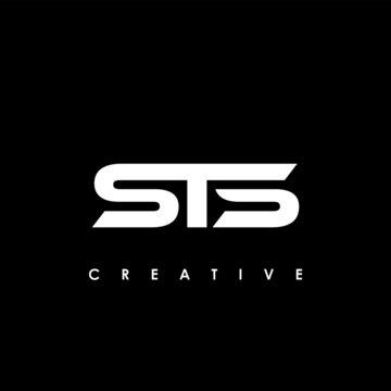 STS Letter Initial Logo Design Template Vector Illustration