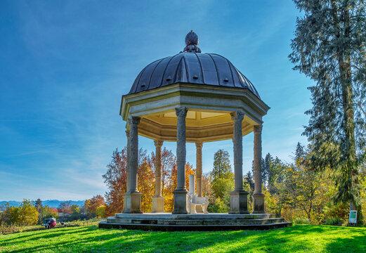 Schacky Park in Dießen am Ammersee, Bayern, Deutschland