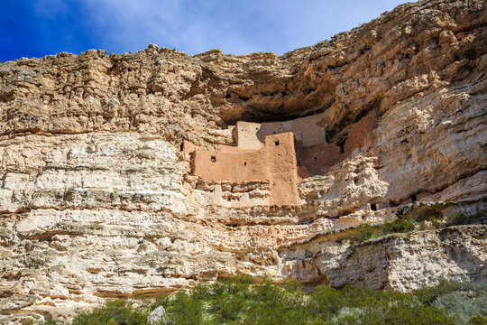 Montezuma Castle Ancient Ruins, National Monument in Arizona