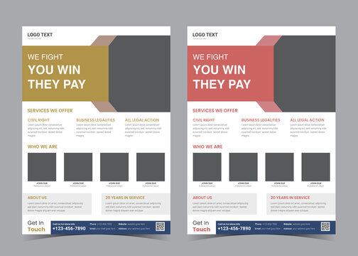 law flyer template. advocate promotion. divorce lawyer ad flyer.