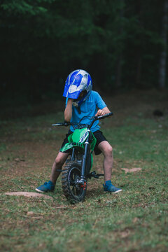 Disappointed Motocross Boy