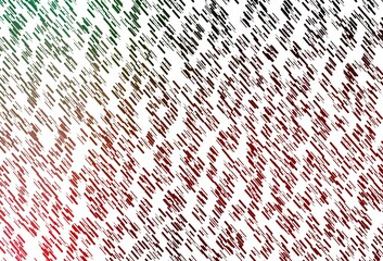 Fototapeta Light Green, Red vector template with repeated sticks. obraz
