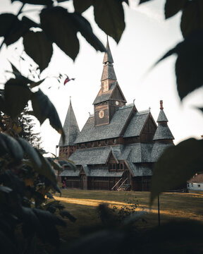 Danish Stave Church with Framing