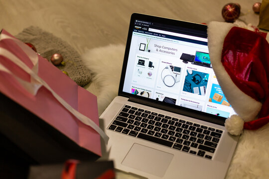 christmas Shopping, Better Living website browser home page