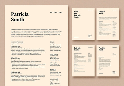 Clean and Professional Resume Layout