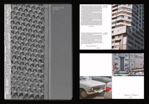 Urban Landscapes Magazine Layout