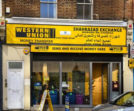 Western Union Shop London