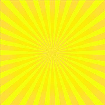 Yellow Orange vector rays. sunburst vector background. sunburst vintage style