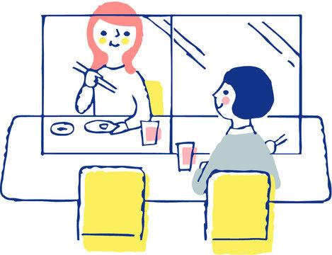 感染症予防対策 アクリル板による飛沫感染防止 飲食店