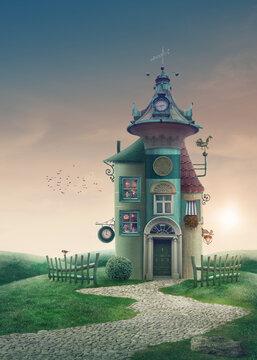 Magic book home