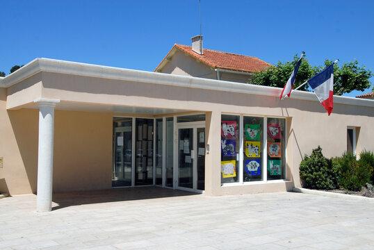Ville de Cadolive, département des Bouches-du-Rhône, France
