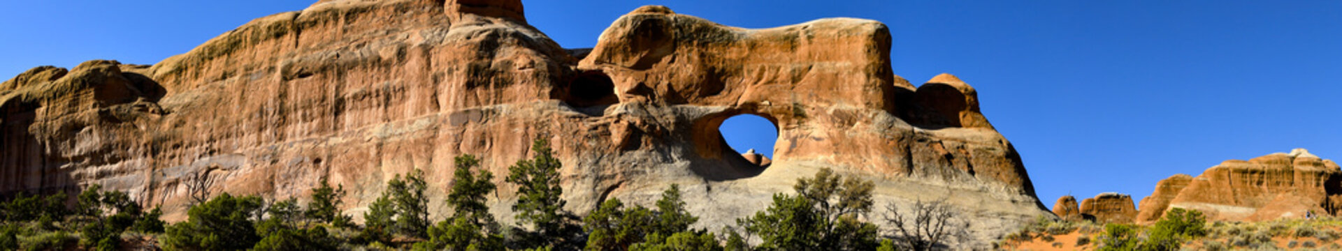 Web Banner of Arches National Park