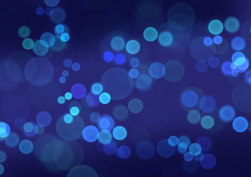 青色のキラキラ背景