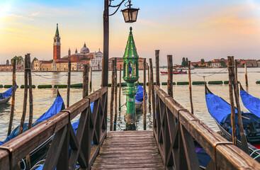 Gondolas in Venice, San Giorgio Maggiore