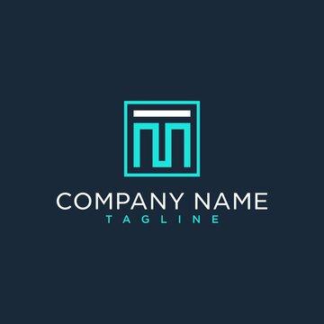 M,MT,TM,initial logo design inspiration