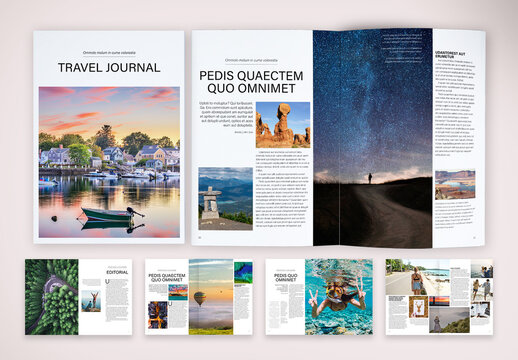 Travel Journal Brochure