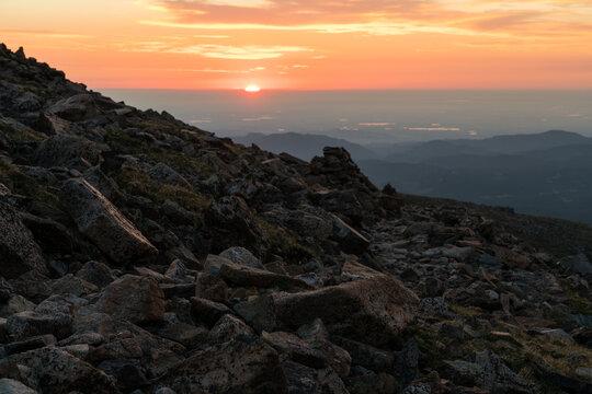 Sunrise Over Boulder, Colorado